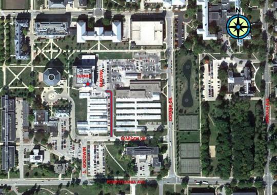 Plant Clinic location, S-417 Turner Hall, 1102 S. Goodwin, Urbana IL 61801