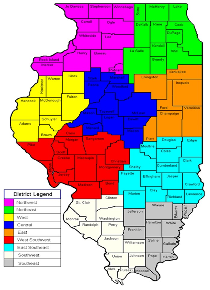 Crop Reporting Districts
