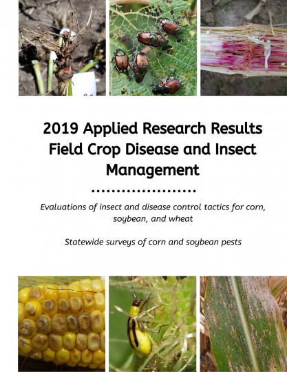 image of the cover of the 2019 applied research report